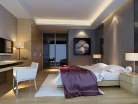 原木色明亮现代风格卧室设计美图