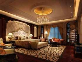 原木色豪华欧式风格卧室装修效果图