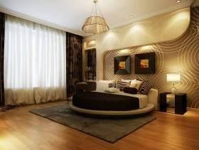 黄色浪漫现代风格卧室设计美图