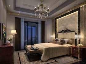 米色舒适欧式风格卧室设计美图