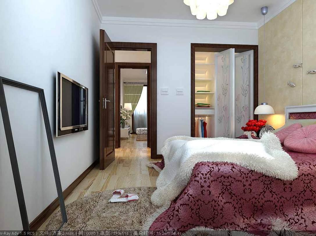 现代简约卧室装饰欣赏