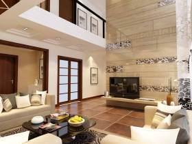 现代简约客厅别墅装修设计欣赏