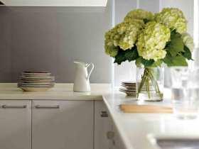 白色宜家厨房精美设计欣赏