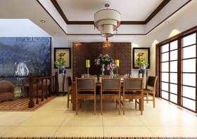 中式古典秀气餐厅装修案例欣赏