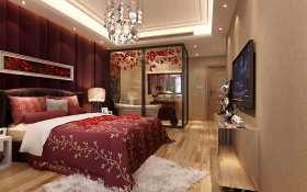 新古典风格浪漫柔美卧室装修案例