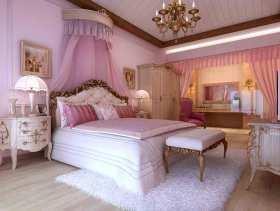 欧式唯美梦幻儿童房装潢案例欣赏