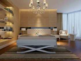 大方唯美简欧风卧室装修效果