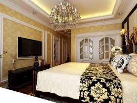 新古典风格精致奢华卧室装修案例