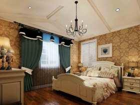 新古典风格时尚大方卧室设计图片