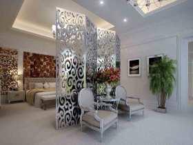新古典主义设计卧室整体效果图片