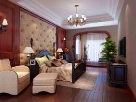 2015简欧大气设计卧室装修图片