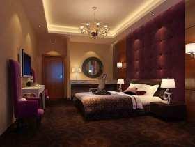新古典主义神秘浪漫卧室装修效果图片