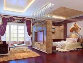 简欧唯美卧室整体设计效果图