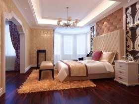 简欧风格轻柔个性卧室设计