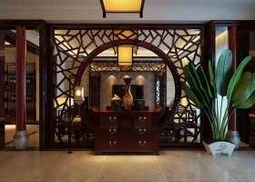 中式风格传统样式玄关装潢设计