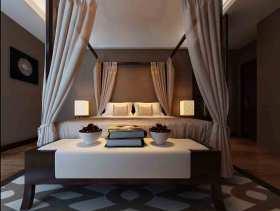 简约造型中式卧室装修设计欣赏