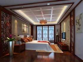 中式卧室唯美秀气装修案例