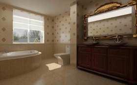新古典主义精致大方卫生间装修案例