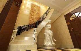 欧式艺术设计楼梯装饰效果图