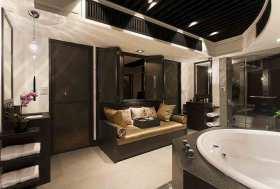 实用新中式卫生间舒适设计