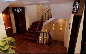 中式楼梯简约利落装潢设计