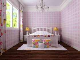 欧式俏皮可爱儿童房实用装潢
