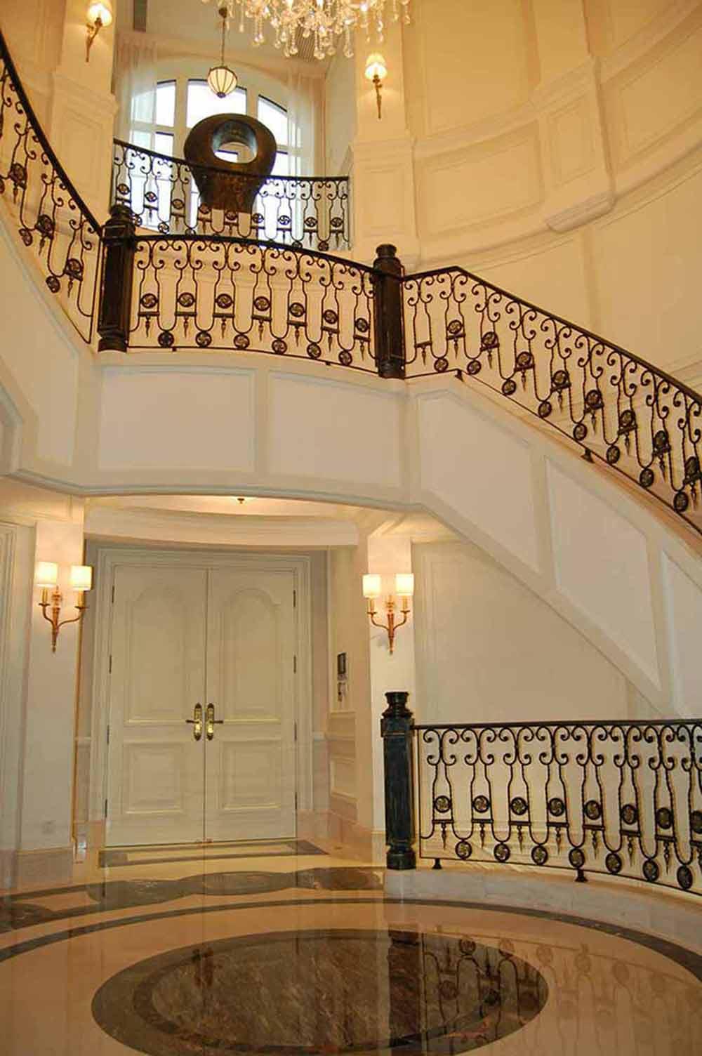 欧式风格楼梯楼梯设计案例-兔狗装修效果图