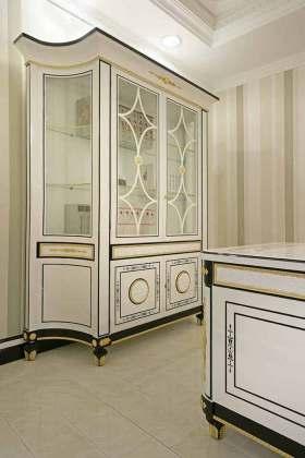 新古风格创意元素收纳柜设计图片