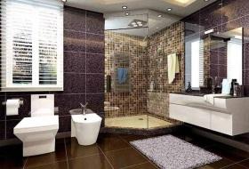 新古典风格整洁清爽卫生间装修设计