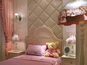 2016欧式粉色浪漫儿童房装修案例