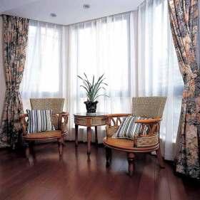 2016东南亚风格窗帘装饰设计