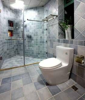 新古典风格清新色调卫生间装修设计