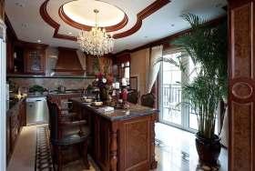 美式风格多功能厨房规划设计