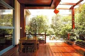 2015东南亚风休闲阳台装潢设计