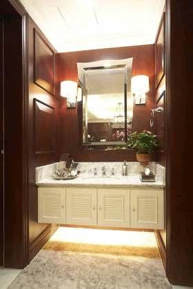 2016美式风格高端质感卫生间局部设计欣赏