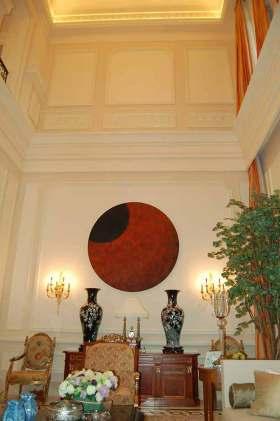 美式风格背景墙整体装修效果图