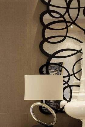 新古典造型设计背景墙创意装潢