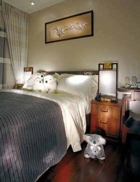 中式素雅温馨儿童房装修效果图