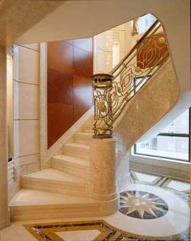 欧式大气高贵楼梯装饰设计图片