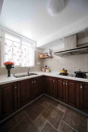 2015新古典风格厨房清爽设计案例