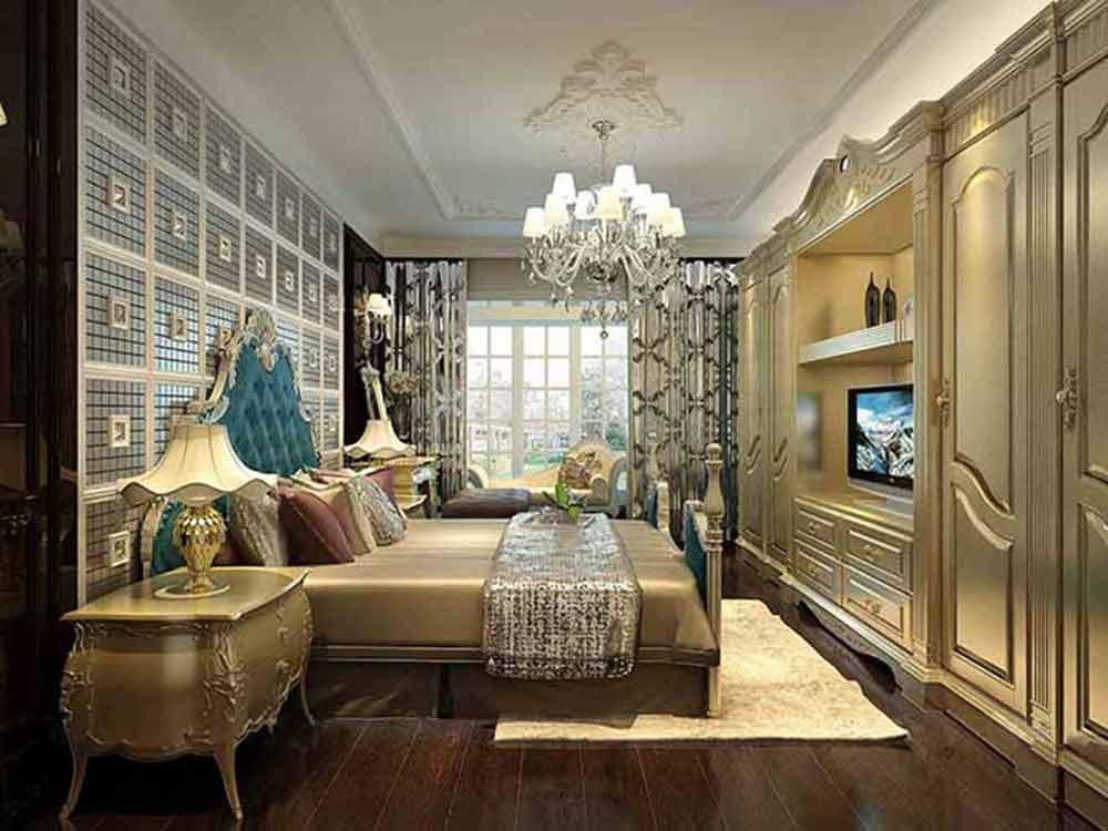欧式风格卧室装修精品图片