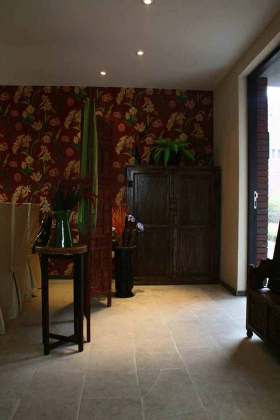 传统温馨东南亚风格收纳柜设计
