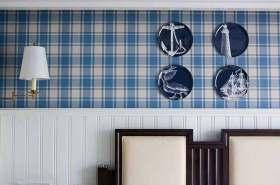 美式风格背景墙别致装饰设计