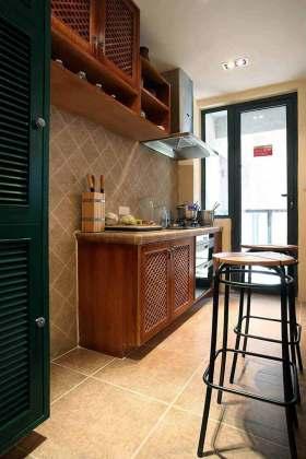 中式实用厨房装修布局