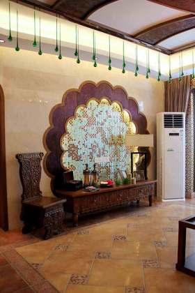 中式特色背景墙装修装饰
