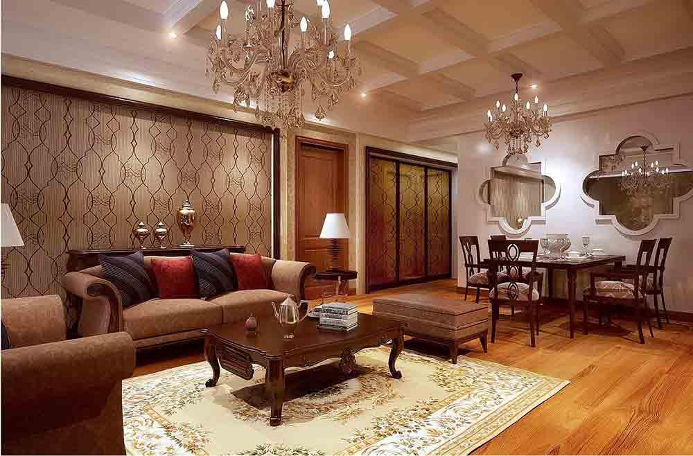 新古典雅致客厅装修装饰