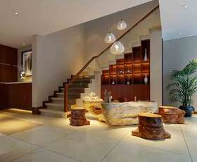 中式风格楼梯装修案例欣赏