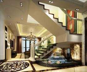 2015美式新古典楼梯装修设计