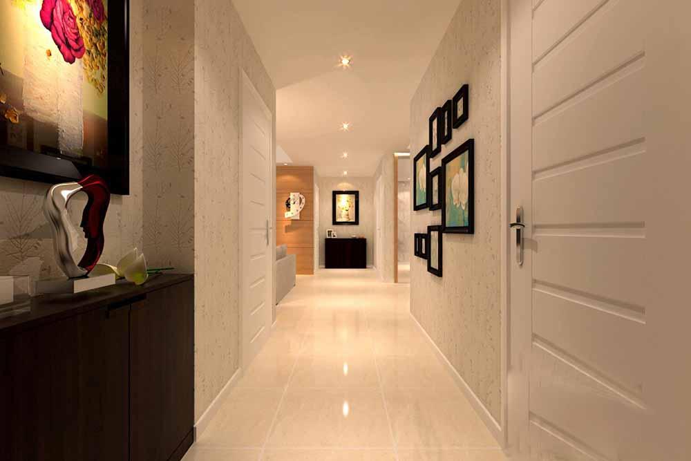 装修美图 2015现代创意过道装修设计  免费户型设计 3家优质装修公司