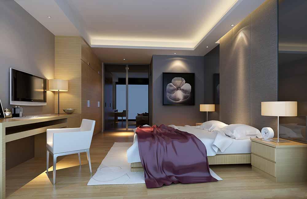 素雅简约风格卧室设计